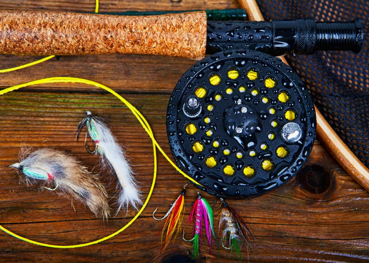 Fly fishing gear: Photo