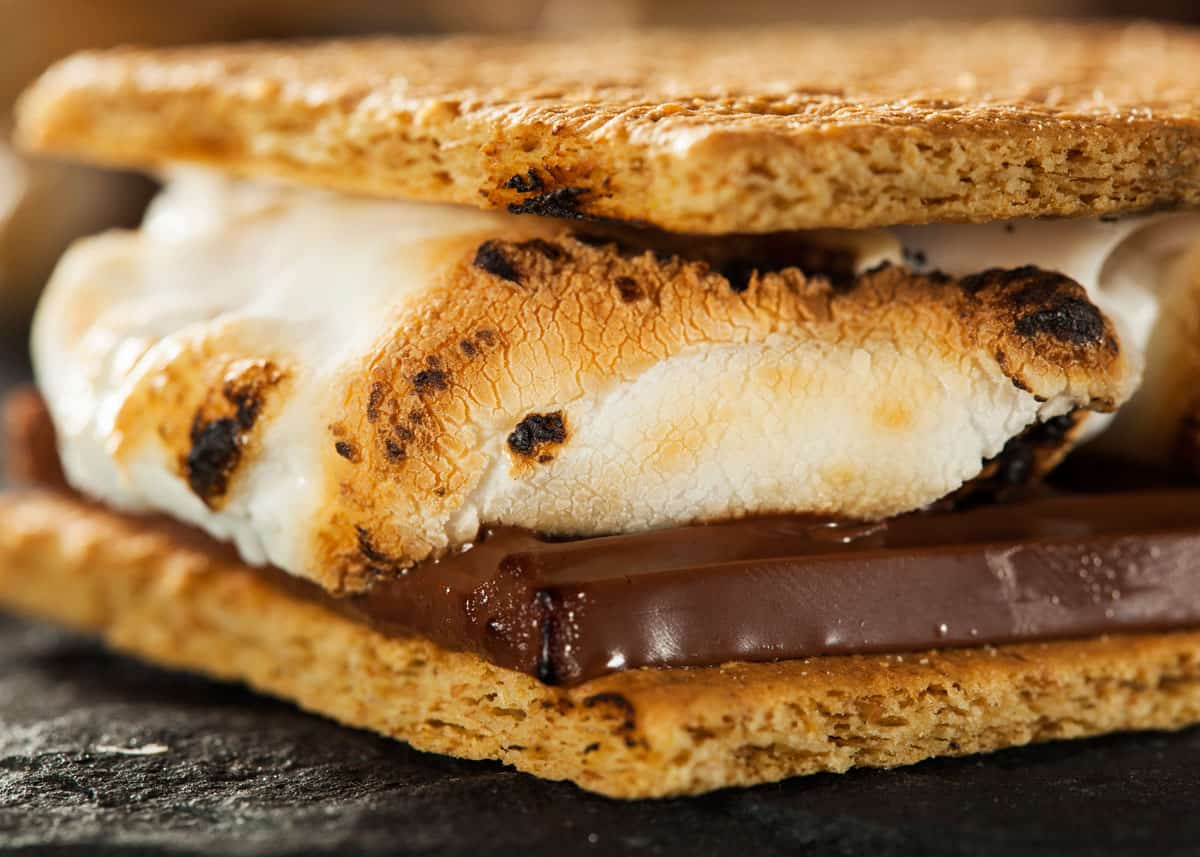 Image result for S'MORES - A CAMPFIRE TREAT FROM USA
